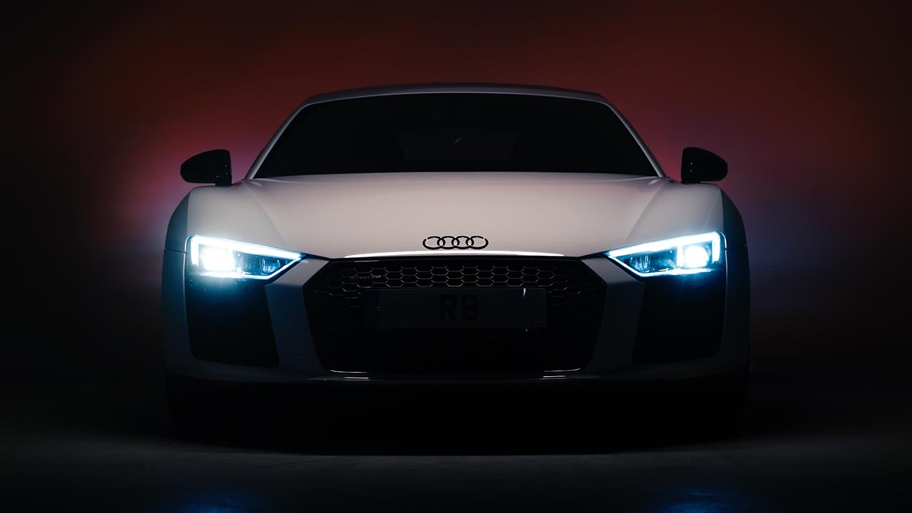 Audi R8 in Darkness - Teaser Videos - Video services bristol