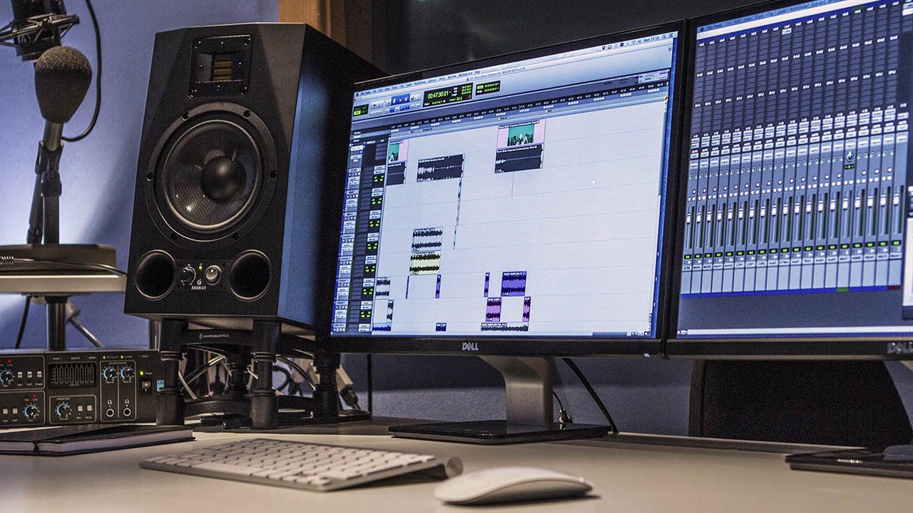 Bomo Audio sound production facilities used to create the sound effects in our animation videos