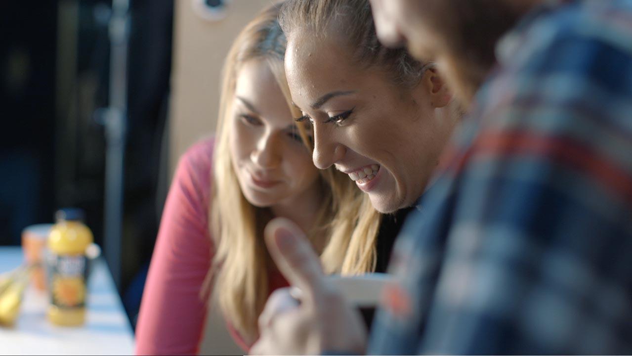 Girls Smiling - Brand Videos - Video services bristol